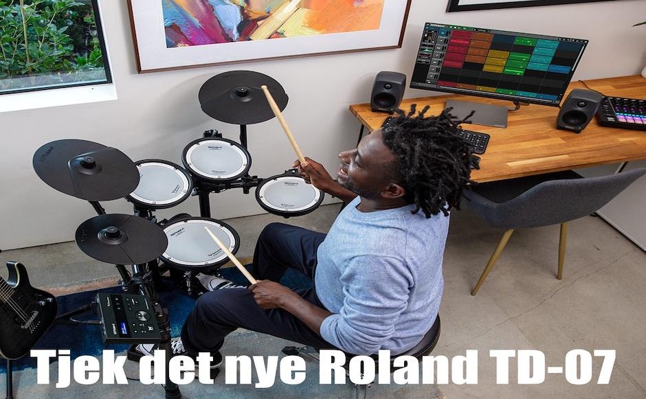 Roland TD-07 banner