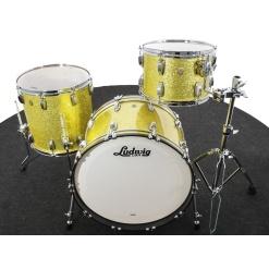 FAB 22 Yellow Glitter